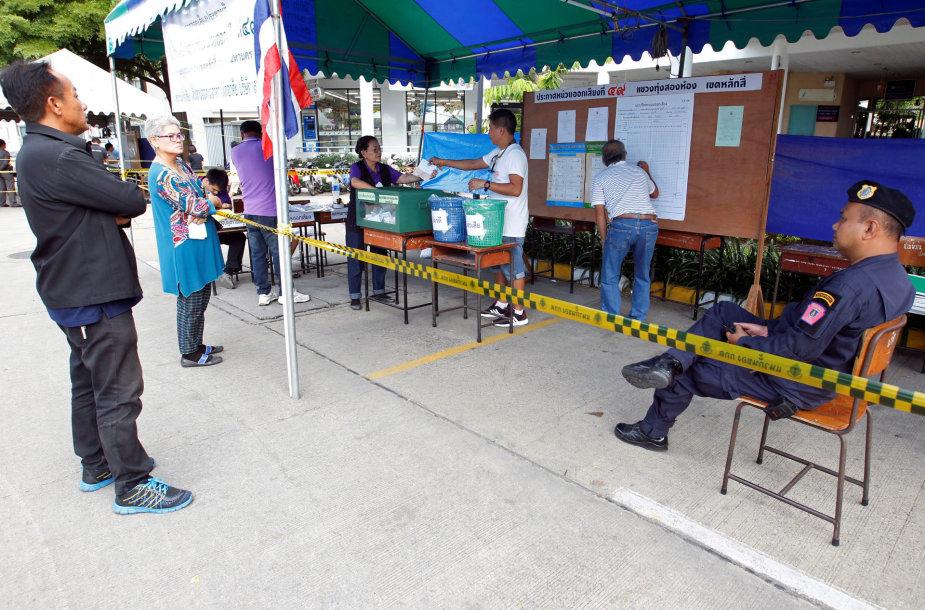 Balsavimas Tailande