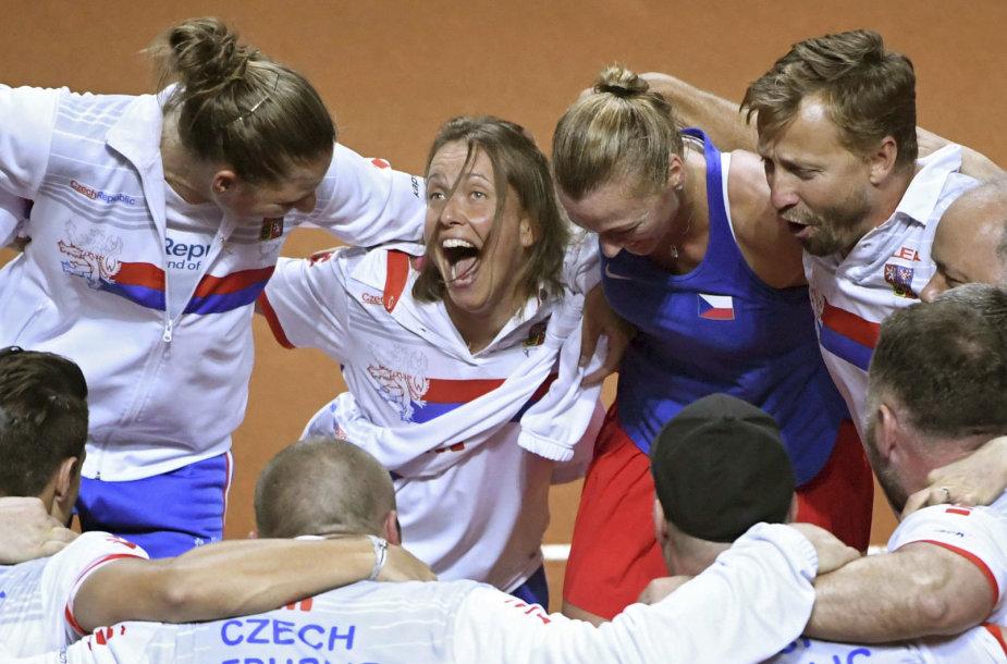 Petra Kvitova ir Čekijos teniso rinktinė