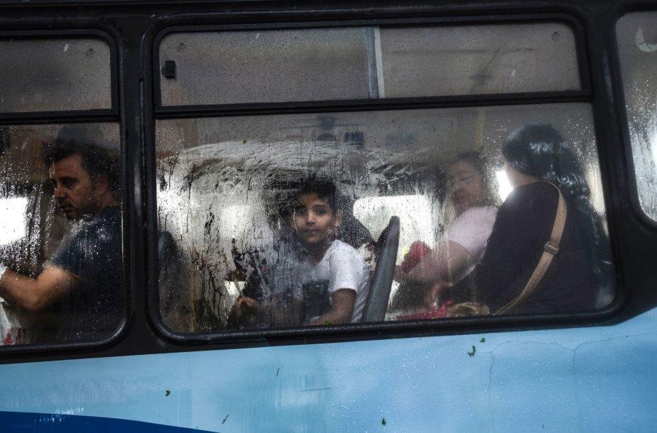 Autobusas Turkijoje