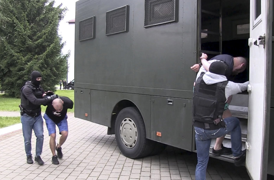 """Baltarusijoje sulaikomi """"Wagner"""" kovotojai"""