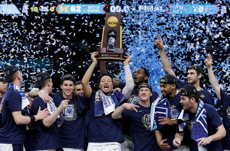 Vilanovos krepšininkai tapo NCAA čempionais