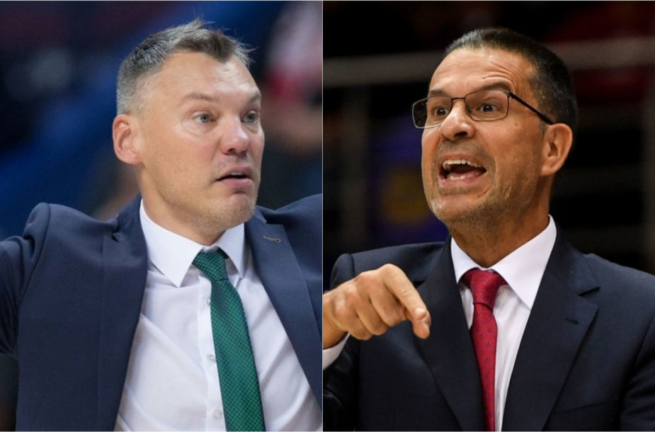 Šarūnas Jasikevičius ir Pedro Martinezas