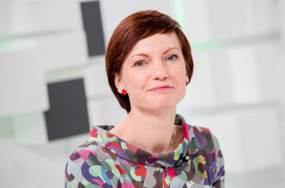 15min studijoje — naujai išrinkta LRT generalinė direktorė  M.Garbačiauskaitė-Budrienė