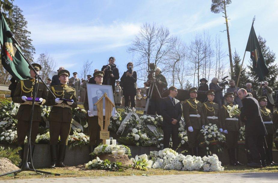 Romualdo Ozolo laidotuvės