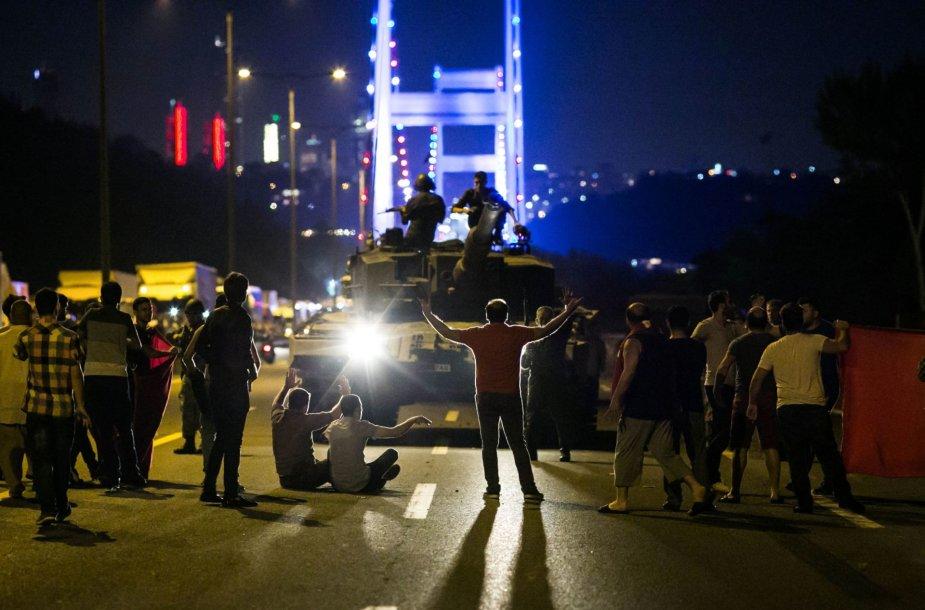Nepavykęs perversmas Turkijoje