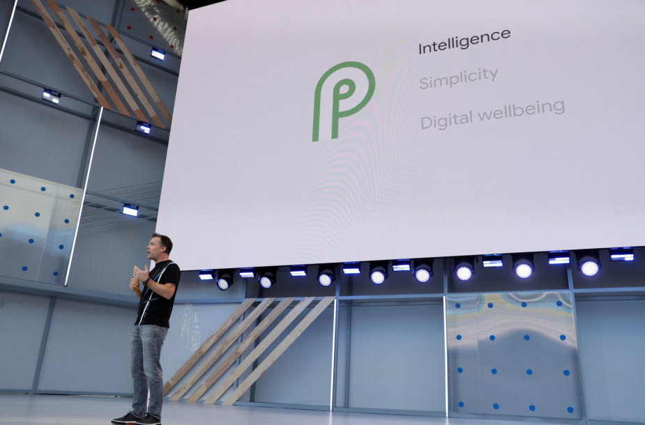 """""""Android P"""" pristatymas"""