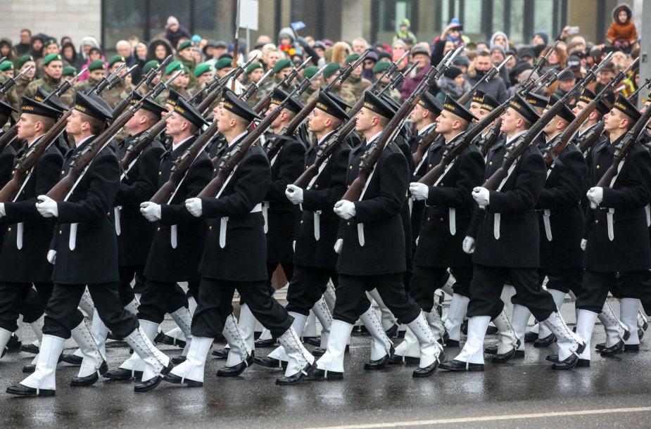 Lietuvos kariuomenės paradas