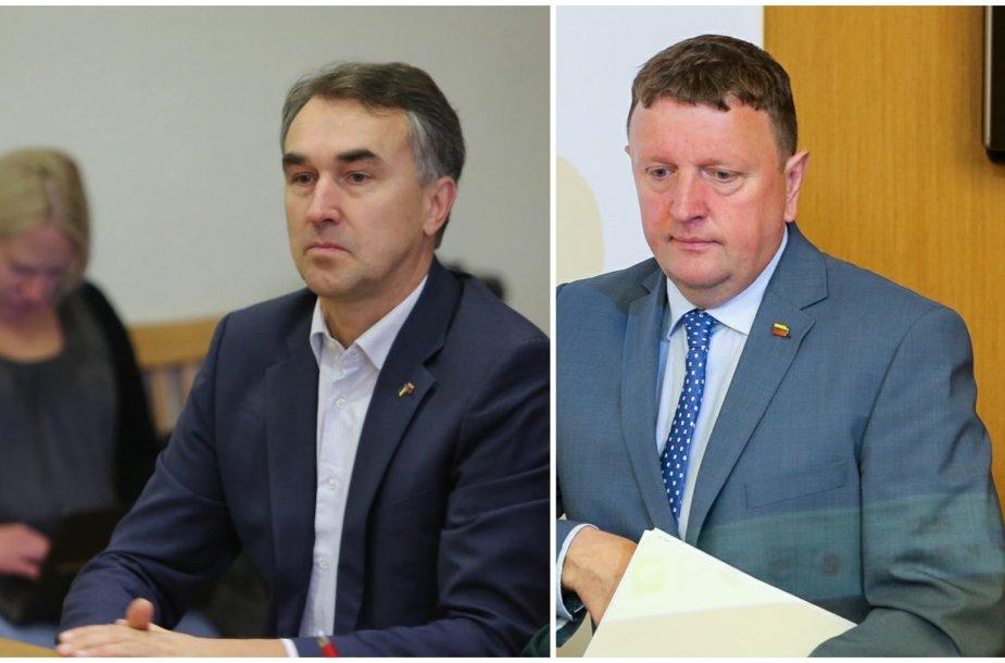 Petras Auštrevičius ir Vitalijus Gailius