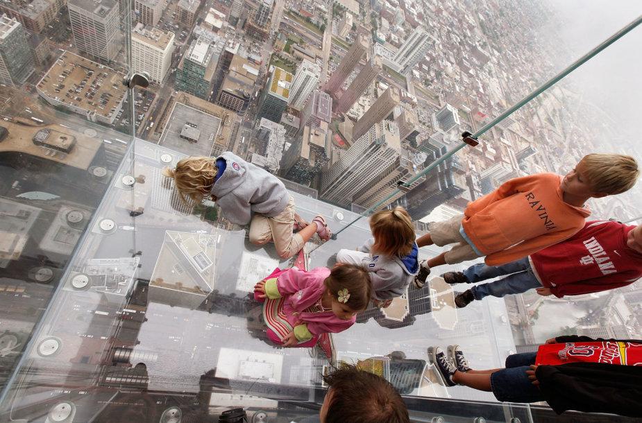 """SkyDeck"" apžvalgos balkonas"