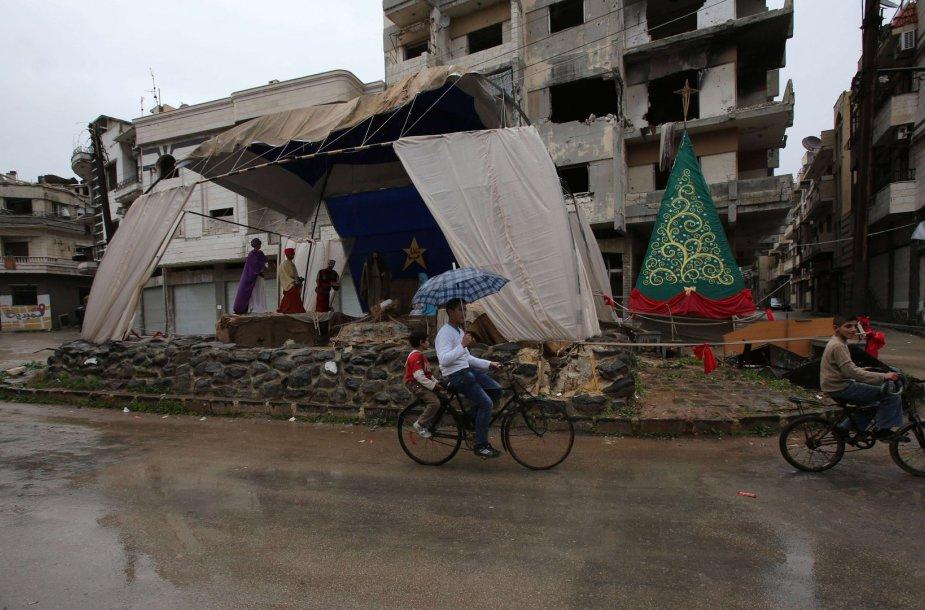 Kalėdos Sirijoje
