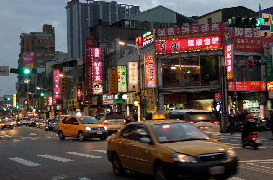 Kelionė po Taivaną
