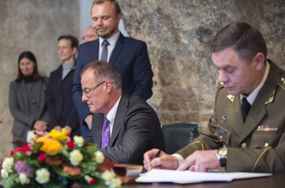 Sutartis su Vokietija del haubicų įsigijimo