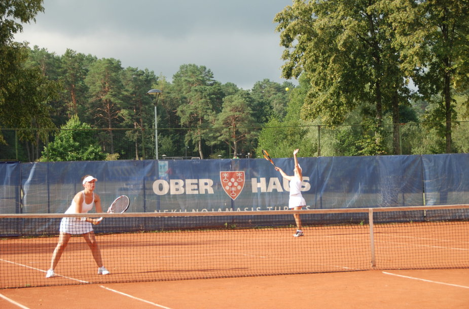 """Grand SPA Lietuva"" teniso turnyro akimirka"