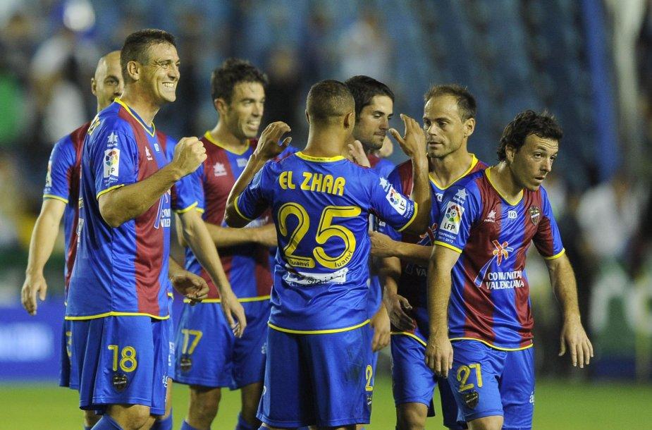 """""""Levante"""" futbolininkai 2011-aisiais"""