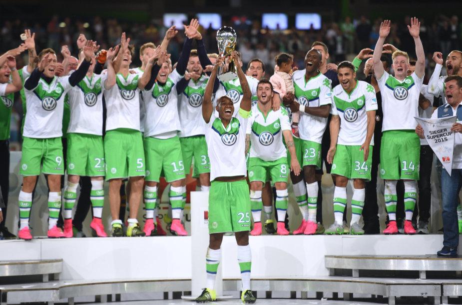 """Wolfsburg"" laimėjo Vokietijos Supertaurę"