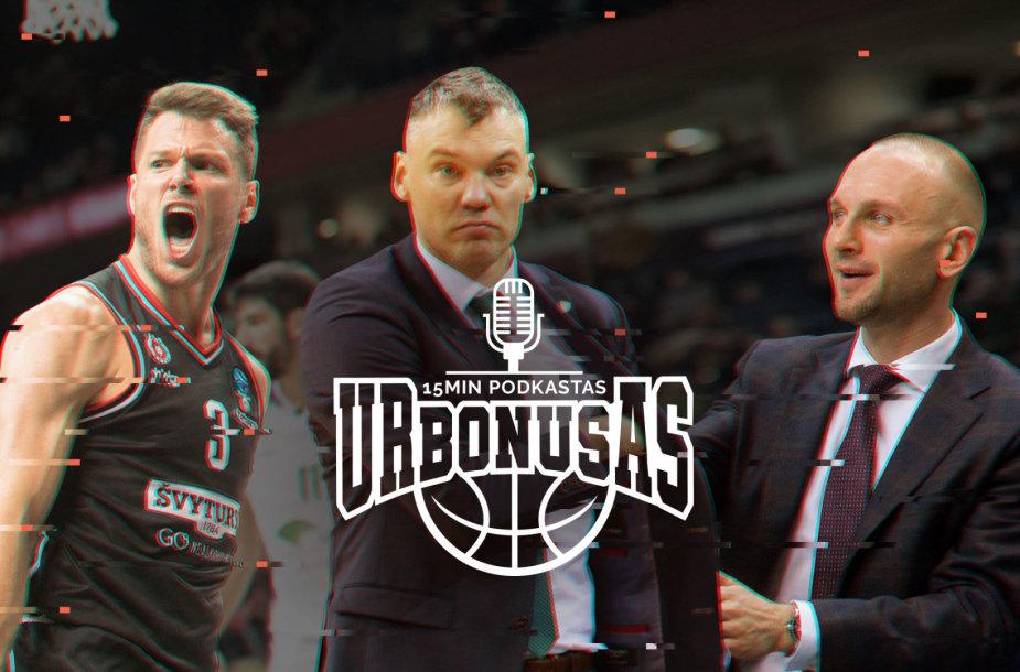"""""""urBONUSe"""" – Lietuvos krepšinio aktualijų aptarimas"""