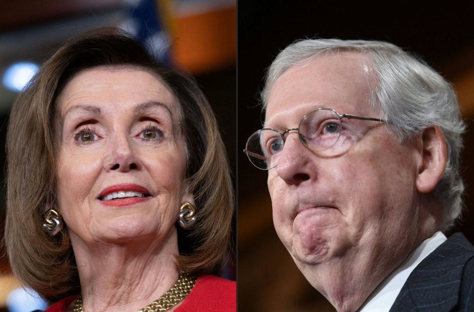 Nancy Pelosi ir Mitchas McConnellas