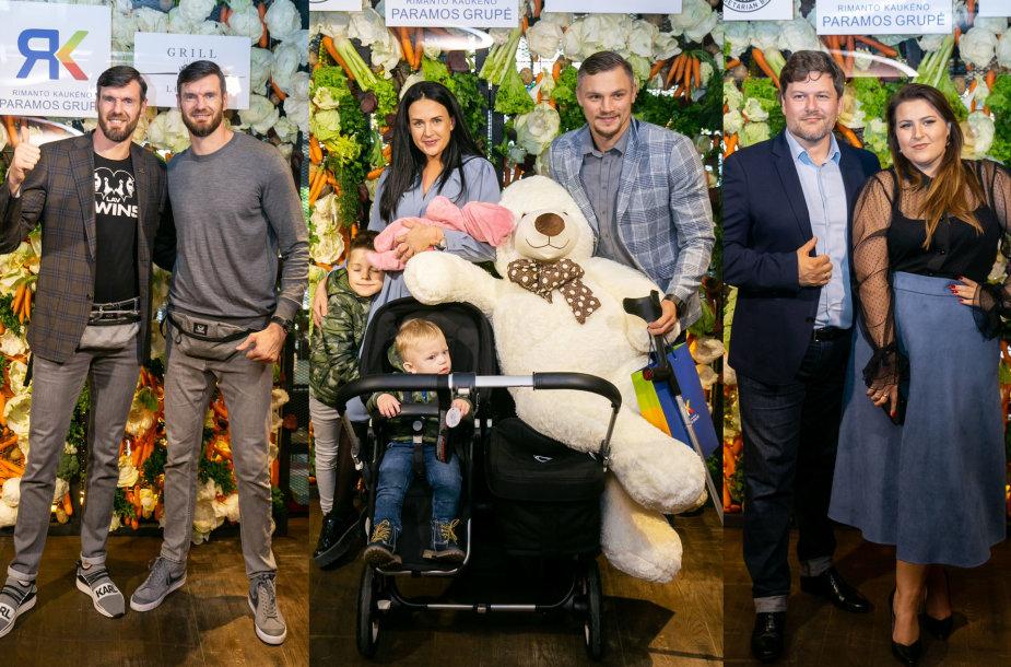 Broliai Lavrinovičiai, Sergejaus Maslobojevo šeima, Erika ir Merūnas Vitulskiai