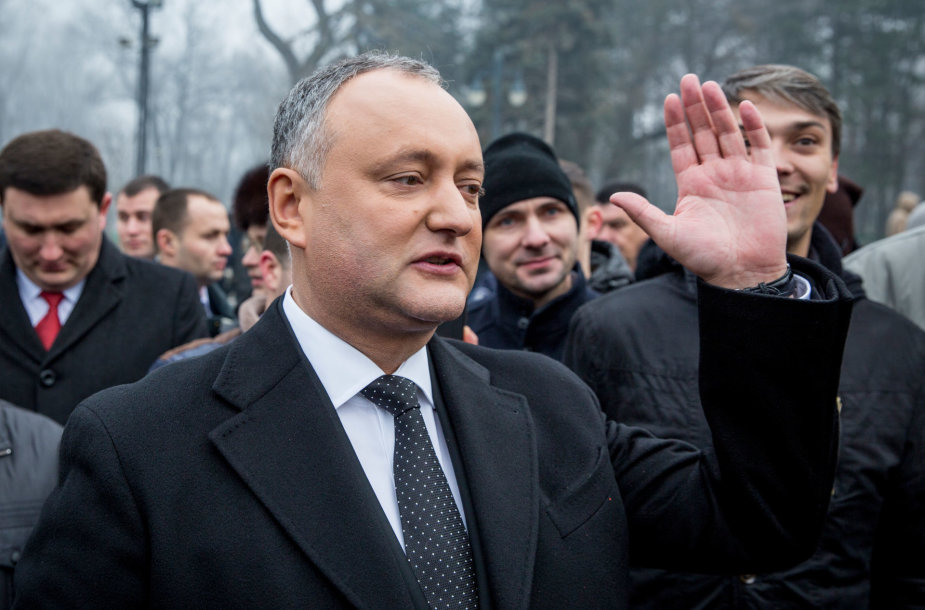 Moldovos prezidentas Igoris Dodonas