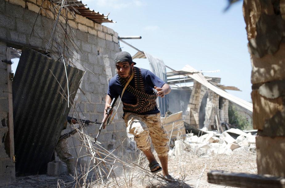 LIbijos vienybės vyriausybės pajėgų kovotojas