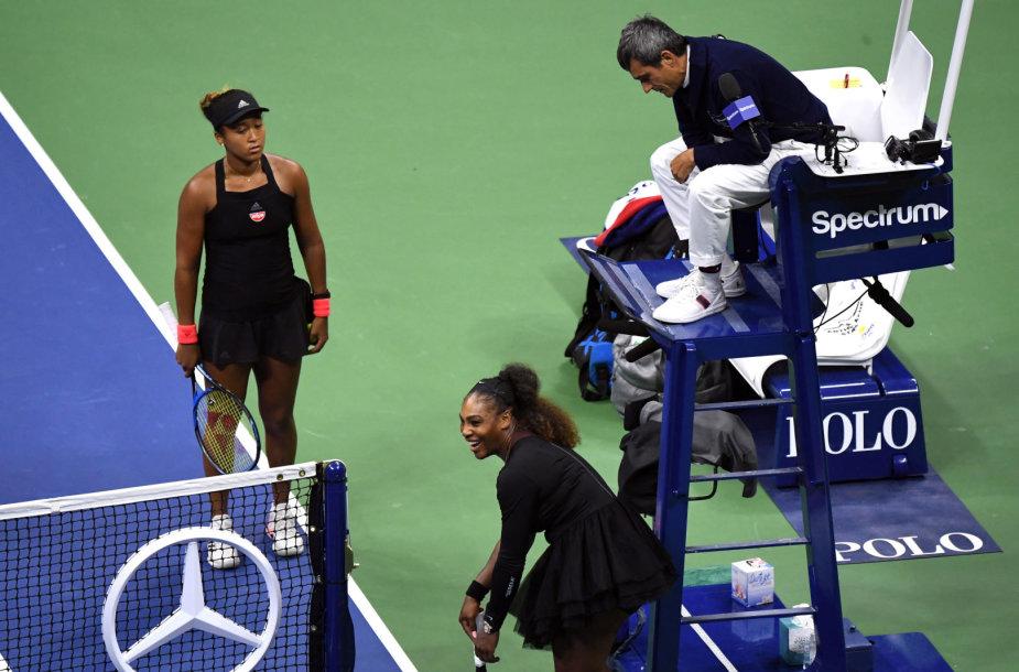 Carlosas Ramosas, Serena Williams ir Naomi Osaka