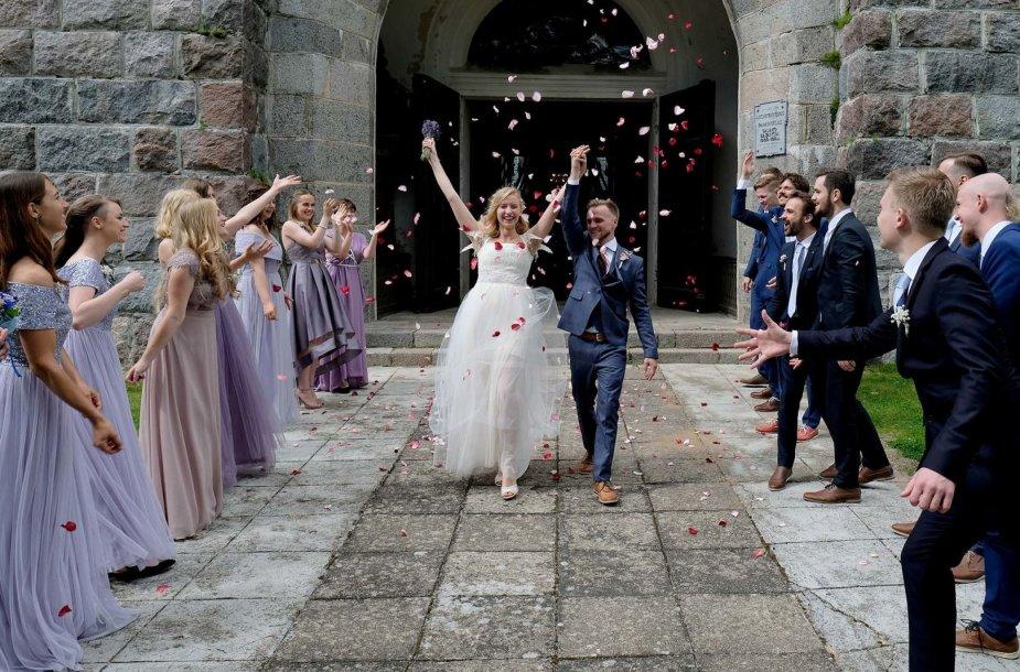 Mildos Andrijauskaitės ir Juliaus Bakanausko vestuvės