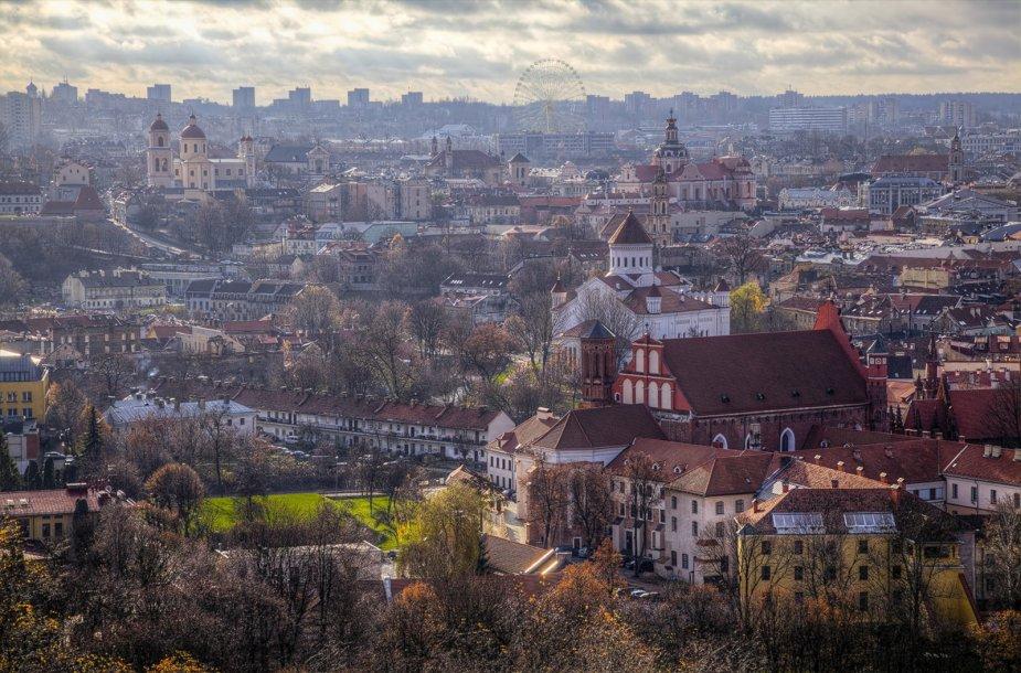 Vizualizacija, kaip atrodys apžvalgos ratas Vilniuje