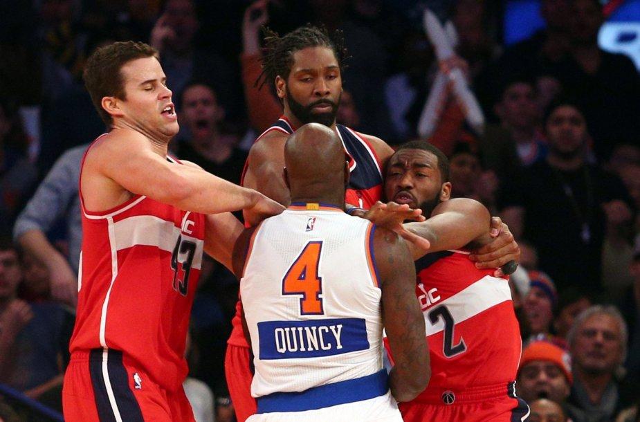 Kalėdinės NBA žaidėjų muštynės