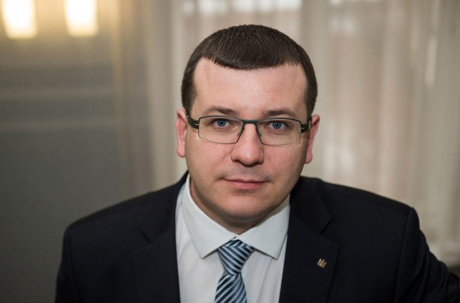 Krašto apsaugos viceministras Edvinas Kerza