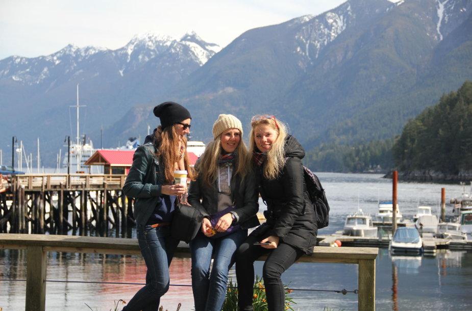 Nuotykiai Kanadoje