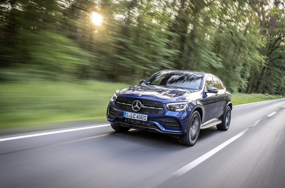"""Mercedes-Benz GLC Coupe"""