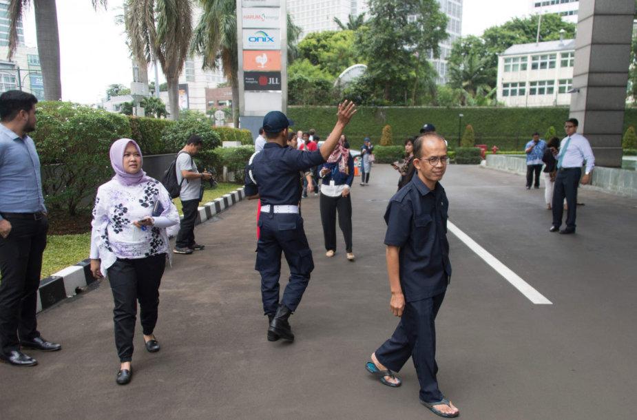 Džakartą supurtė stiprus žemės drebėjimas
