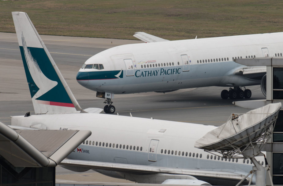 """""""Cathay Pacific"""" lėktuvai"""