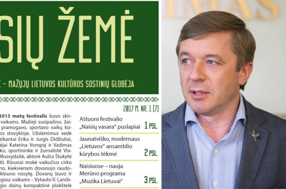 """""""Naisių žemė"""" ir Ramūnas Karbauskis"""