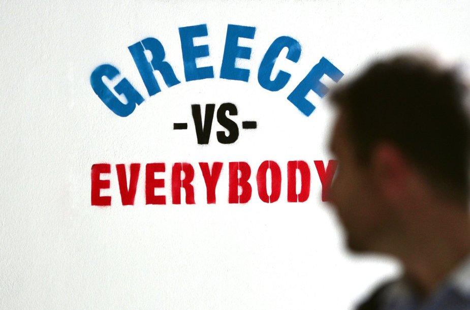 Užrašas Atėnuose