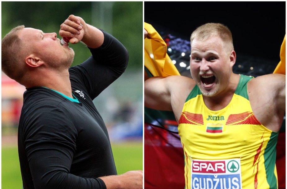 Andrius Gudžius prieš pasaulio čempionatą susirgo laimo liga