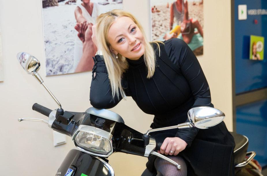 Vilija Pilibaitytė-Mia 15min redakcijoje