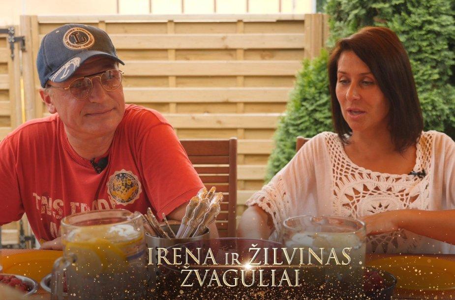 Žilvinas Žvagulis ir Irena Starošaitė