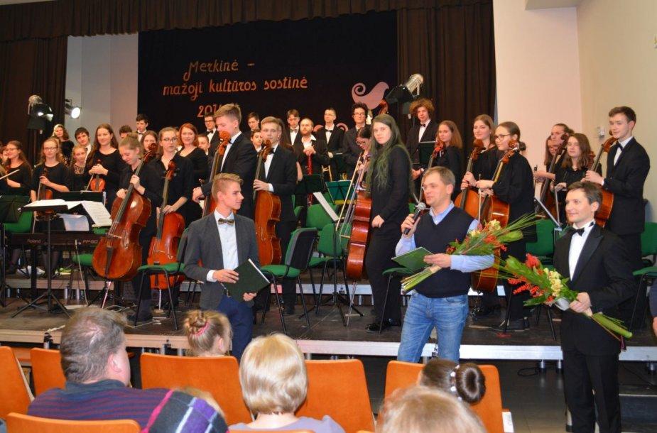 2016 metų mažojoje kultūros sostinėje Merkinėje surengta baigiamoji šventė