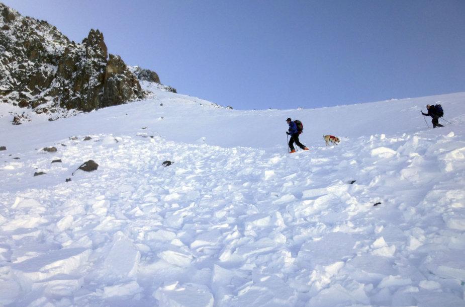 Dvigubą tragediją nulėmė sniego lavina Montanoje