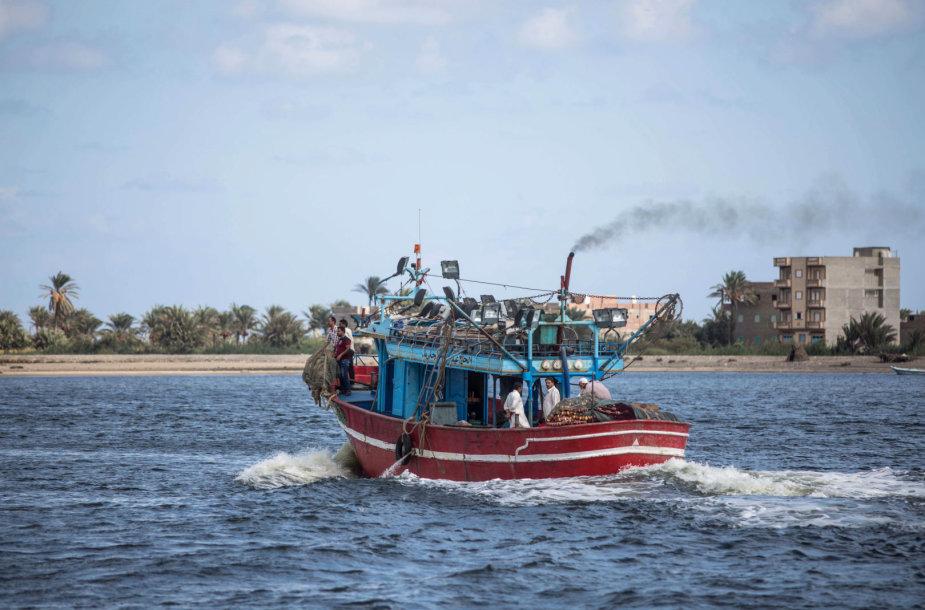 Egiptiečiai žvejai Viduržemio jūroje