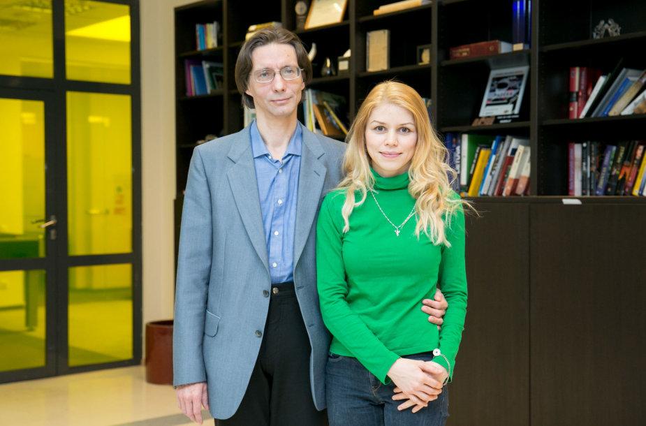 Tatjana ir Andrejus Sokolovai