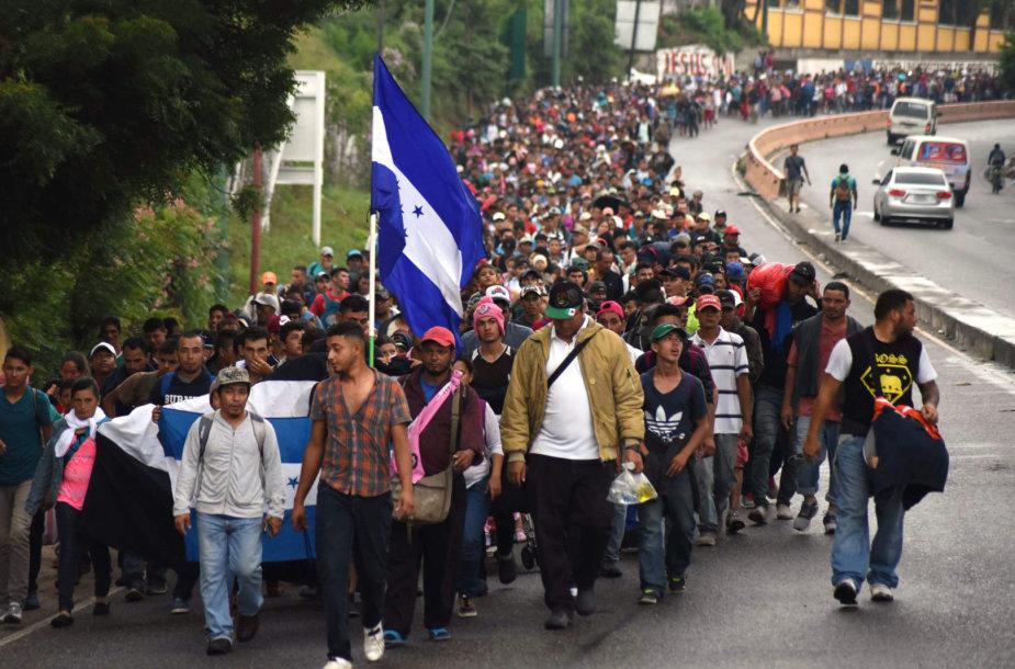 Migrantai iš Hondūro