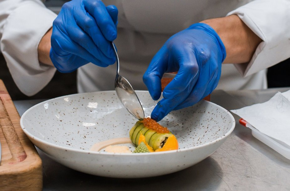 """International Young Chefs Challenge"" 2019 treniruotė"