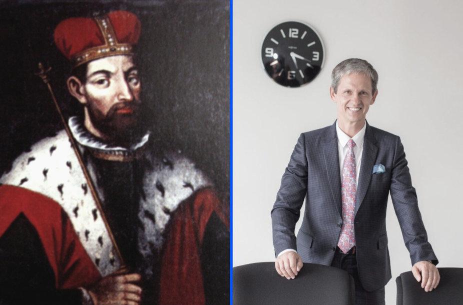 Kunigaikštis Gediminas ir Nerijus Numa