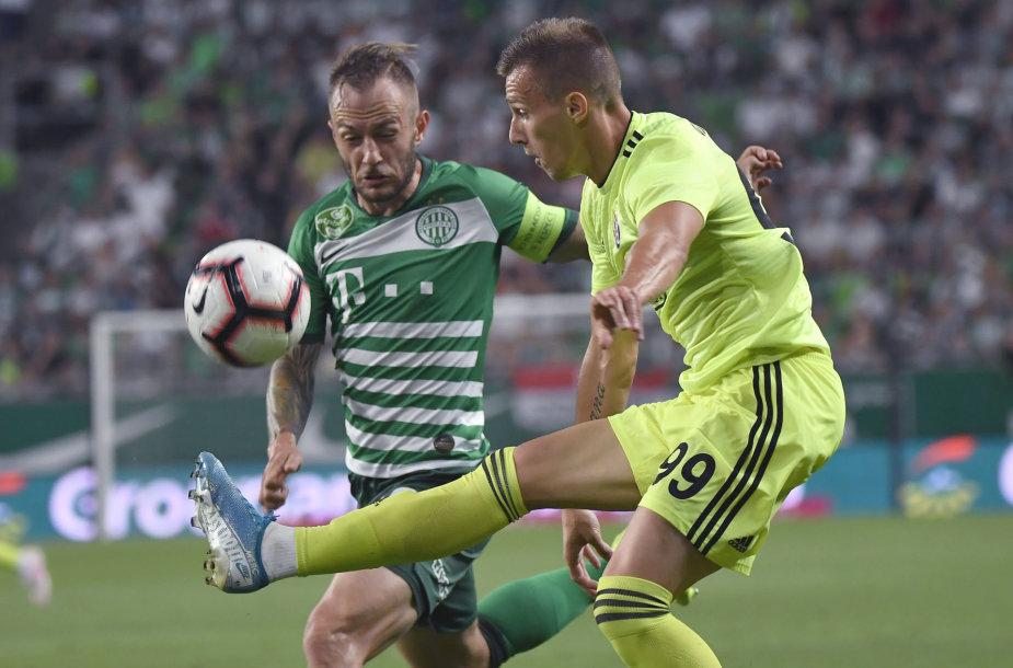 """Budapešto """"Ferencvaros"""" – Zagrebo """"Dinamo"""""""