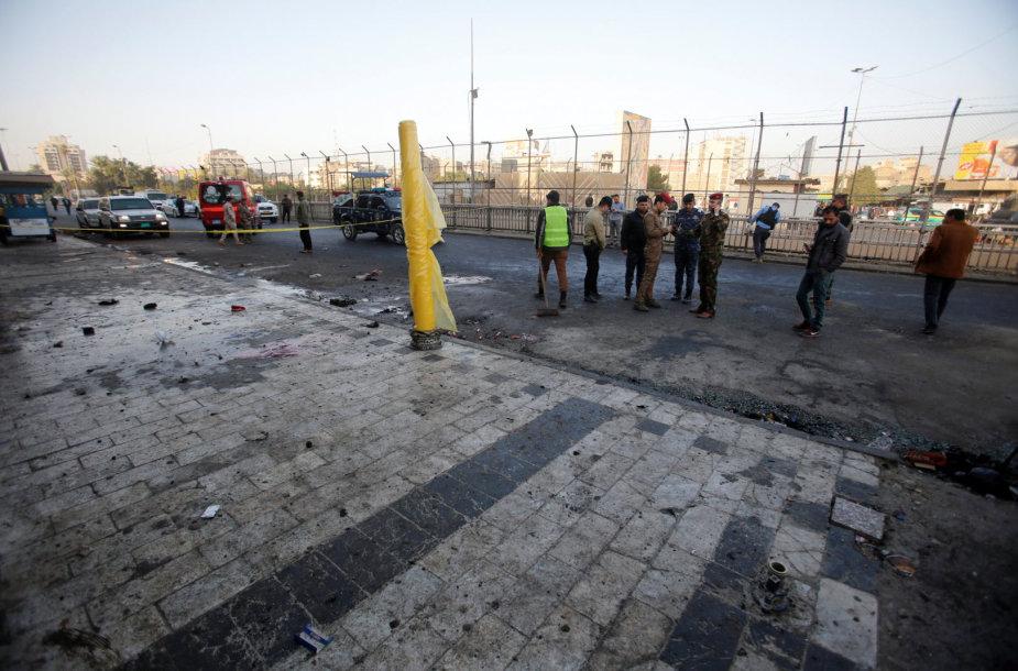 Iraką užplūdo savižudžių išpuolių banga