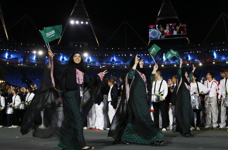 Saudo Arabijos sportininkai Londono olimpiadoje
