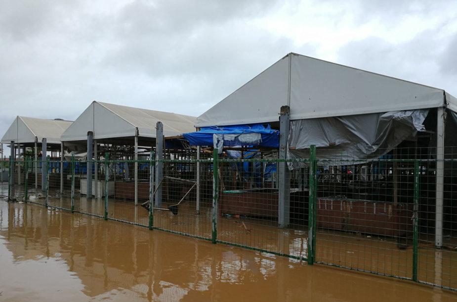 Ciklono padariniai Samoa