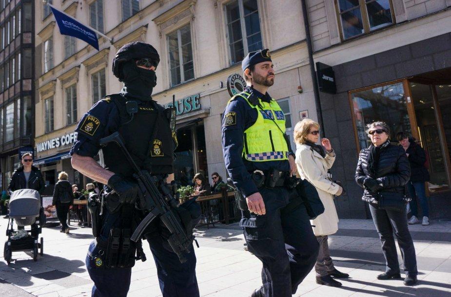 Švedijos policininkai